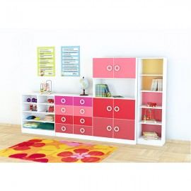 Set mobilier gradinita 15 - Colores