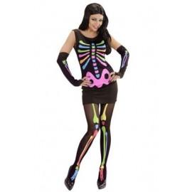 Costum Schelet Neon