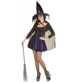 Costum vrajitoare purple Marime M