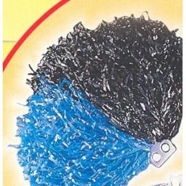 Pom Pom DELUXE bicolor Albastru + Negru