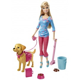 Barbie Invata Catelul La Litiera imagine