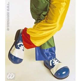 Pantofi latex clown adult