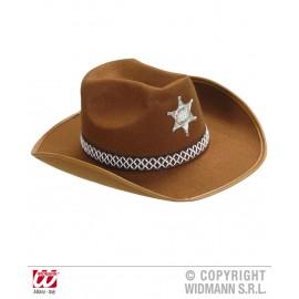 Palarie sheriff maro