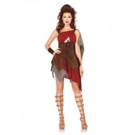 Costum luptatoare medievala