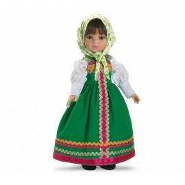 Papusa Marina (costum verde) - Paola Reina