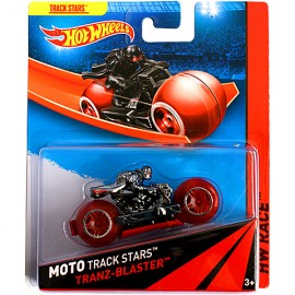 Tranz-blaster Cu Motociclist - Hot Wheels