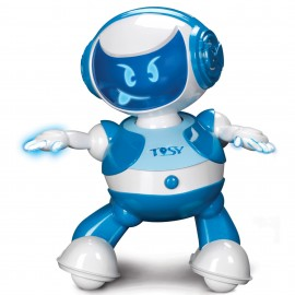 Robotel dansator Disco Robo Albastru