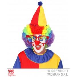 Ochelari clown rosii
