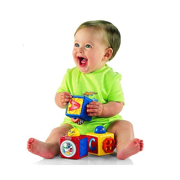 Fisher Price - Set Joaca 3 Cuburi