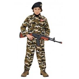 Costum soldat - marimea 140 cm