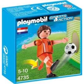 Jucator fotbal - olanda