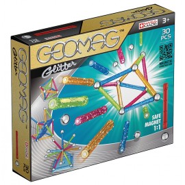 Geomag Glitter - Set Magnetic 30 Piese