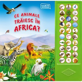 Ce Animale Traiesc In Africa?