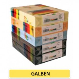 Carton Color 160 Gr A4 Galben - 250 Coli