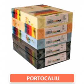 Carton color 160 gr A4 Portocaliu - 250 coli