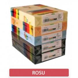 Carton color 160 gr A4 Rosu - 250 coli