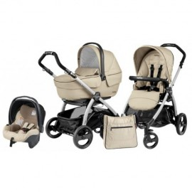Carucior 3 in 1 Book Plus Black & Silver Sportivo SL