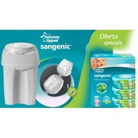 Tommee Tippee - PACHET Cos Igienic Pentru ScuteceNursery Essentials + Rezerva Universala Sangenic x 3 buc