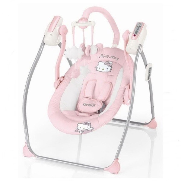 Balansoar electric miou hello kitty brevi