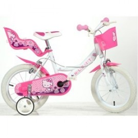 Bicicleta 14 Hello Kitty Dino Bikes