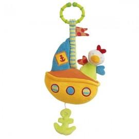 Jucarie muzicala vaporas brevi (brevi soft toys)