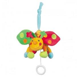 Jucarie muzicala buburuza brevi (brevi soft toys)