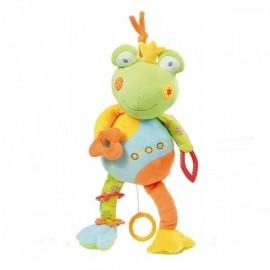 Jucarie muzicala broscuta brevi (brevi soft toys)