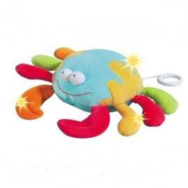 Jucarie muzicala crab brevi (brevi soft toys)