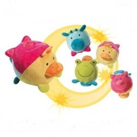 Minge cu sunete brevi (brevi soft toys)