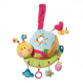 Carusel muzical melc brevi soft toys
