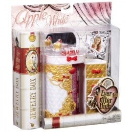 Set de joaca Cutie de bijuterii Ever After High - Apple White