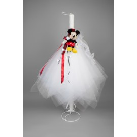 Lumanare Botez Mickey Mouse imagine
