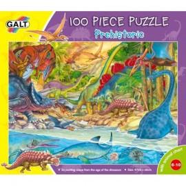 Puzzle Galt 100 piese - Preistoria / Prehistoric