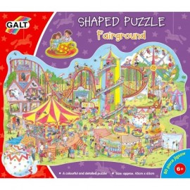 Puzzle Galt 80 piese - Parcul de distractii / Fairground