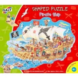 Puzzle Galt 80 piese - Corabia piratilor / Pirate Ship