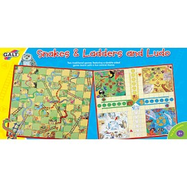 Joc familial interactiv 2 in 1 / Snakes & Ladders and Ludo