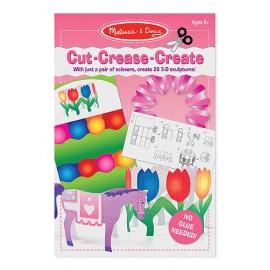 Creaza figurine din hartie - setul roz