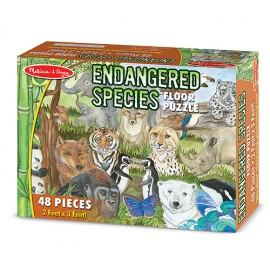 Puzzle de podea Animale protejate