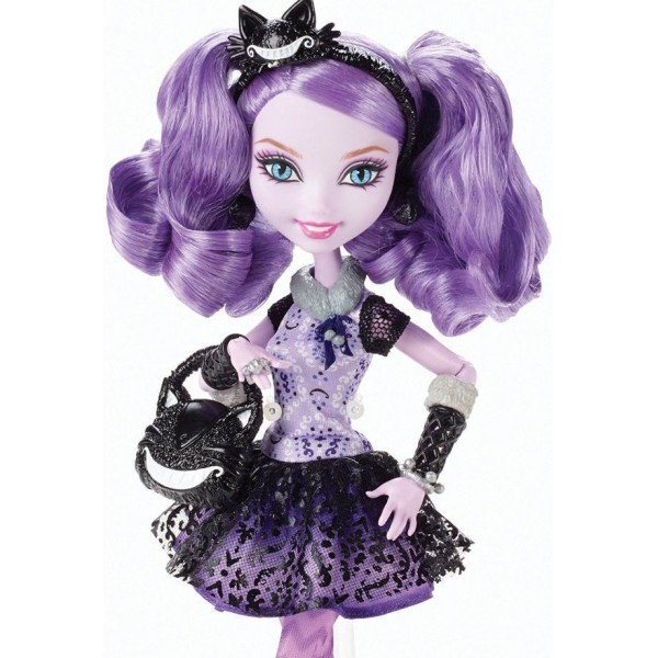 Papusa Ever After High Rebele - Kitty Cheshire
