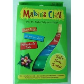 Set pasta polimerica cu uscare la aer Multicolor - Makins