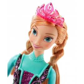 Papusa Anna Stralucitoare - Disney Frozen imagine