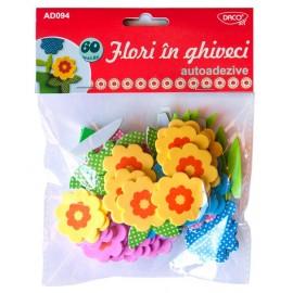 Flori In Ghiveci Spuma - Autoadezive Daco