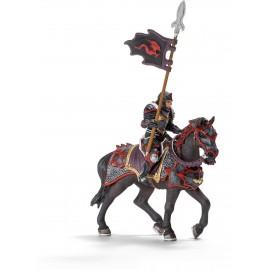 Cavaler dragon calare cu lance