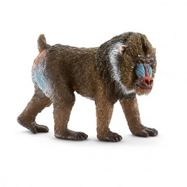 Figurina animal mandril mascul