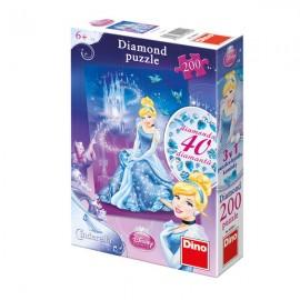 Diamond puzzle - cenusareasa (200 piese)