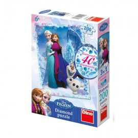 Diamond puzzle - frozen (200 piese)