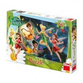 Puzzle - dansul zanelor (66 piese)