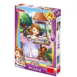 Puzzle - printesa sofia si prietenii (24 piese)