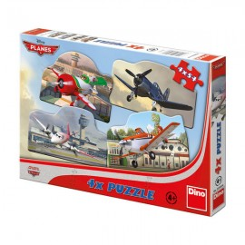 Puzzle 4 in 1 - avioane (54 piese)