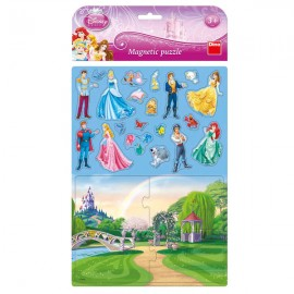 Puzzle magnetic - printese (24 piese)